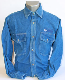 USA Rice Denim Shirt